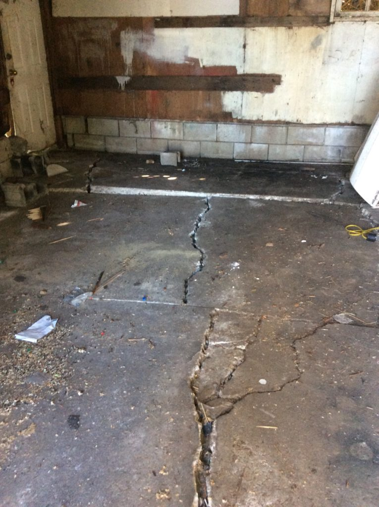 Poor Condition garage